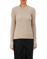 Rick Owens - Ribbed Sweater - Lyst
