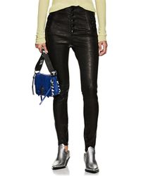J Brand - Natasha Skinny Leather Pants - Lyst