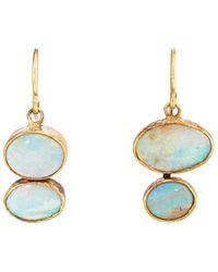Judy Geib - Opal Drop Earrings - Lyst