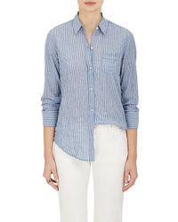 Nili Lotan - Striped Cotton Long - Lyst