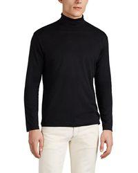 Sunspel - Cotton Turtleneck T-shirt - Lyst
