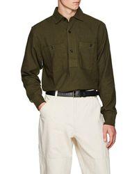 Margaret Howell - Cotton-blend Twill Shirt - Lyst