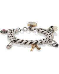 Alexander McQueen - Multi-charm Bracelet - Lyst