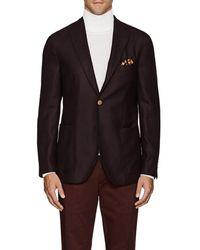 Boglioli - k Jacket Wool Hopsack Three-button Sportcoat - Lyst