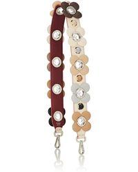 Fendi strap You Leather Shoulder Strap - Multicolour