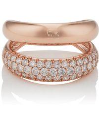 Carbon & Hyde Gemini Ring - Multicolour