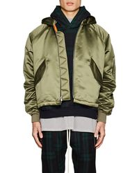 Fear Of God - Satin Insulated Hooded Bomber Jacket - Lyst