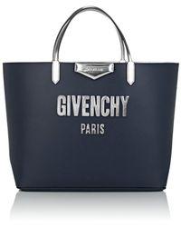 Givenchy - Antigona Leather Tote Bag - Lyst