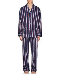 Derek Rose - Royal Striped Cotton Pyjama Set - Lyst