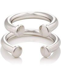 Jennifer Fisher - Pipe Ring Set - Lyst