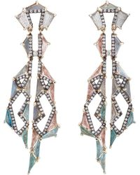 Nak Armstrong - Shawl Drop Earrings - Lyst