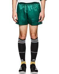 Gosha Rubchinskiy - Logo Satin Gym Shorts - Lyst