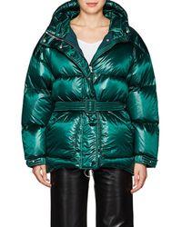 Ienki Ienki Oversized Down Puffer Coat - Green