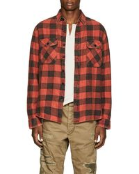 RRL - Matlock Checked Cotton-twill Shirt - Lyst