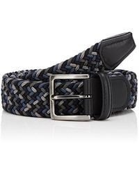 Barneys New York - Braided Elastic Belt - Lyst