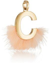 Fendi - Abclick C Bag Charm - Lyst