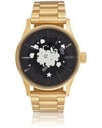 Nixon Sentry Ss Watch - Metallic
