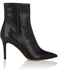 Barneys New York - Leather Ankle Boots - Lyst