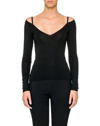Prada - Cashmere-silk Off-the - Lyst