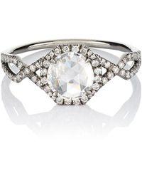 Monique Péan - Diamond Dome Ring - Lyst