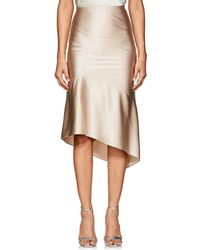Narciso Rodriguez | Silk Charmeuse Evening Skirt | Lyst