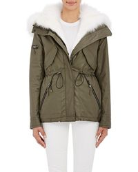 Sam. - Fur-lined Hooded Jacket - Lyst