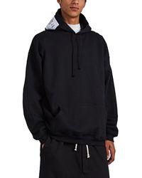 Vetements - Logo-patch Oversized Cotton Hoodie - Lyst