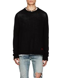 RTA - live Enteinment Cashmere Sweater - Lyst