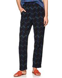 Ace & Jig - Gatsby Chevron Striped Cotton Pants Size Xs - Lyst