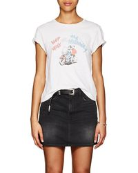 RE/DONE - her Way Or The Highway Cotton T-shirt - Lyst