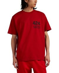 424 Soccer Tee - Red