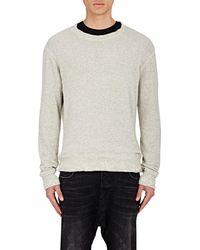 R13 - Distressed Sweatshirt - Lyst