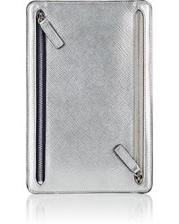Smythson - Panama Leather Currency Case - Lyst