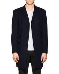 Brooklyn Tailors - Wool-silk Top Coat - Lyst