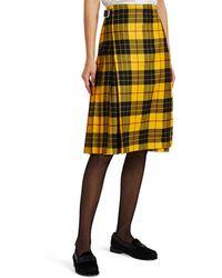 Le Kilt - Plaid Wool Kilt - Lyst