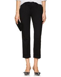 Prada - Wool Straight Cuffed Trousers - Lyst