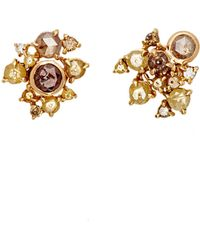 Sharon Khazzam - Women's Ernest Stud Earrings - Lyst