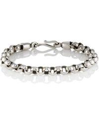 Caputo & Co. - Sterling Silver Rolo-chain Bracelet - Lyst