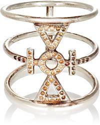 Wendy Nichol - Sterling Silver Drilled Auspicious Ring - Lyst