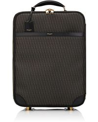 Saint Laurent Monogram 21 Carry-on Trolley - Black