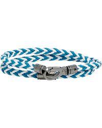 Tod's - Leather Wrap Bracelet - Lyst