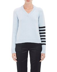 Alexander Lewis - Open Back V-neck Sweater - Lyst