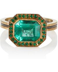 Judy Geib - Emerald Ring - Lyst