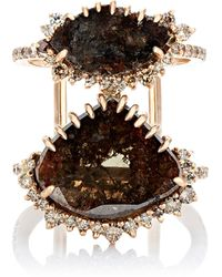 Sharon Khazzam - Paddy Slice Ring - Lyst