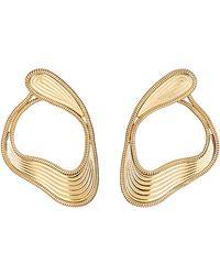 Fernando Jorge - Stream Lines Loop Earrings - Lyst