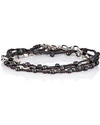 Feathered Soul - Men's Cedar Wrap Bracelet - Lyst