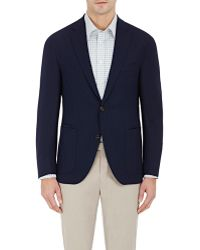 Luciano Barbera - Piqué Two-button Sportcoat - Lyst