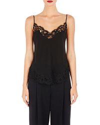 c7ee3d7fd38 Lyst - La Perla Black Leavers Lace V-bra in Black