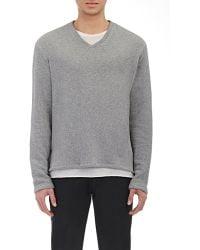 Barena - V-neck Sweatshirt - Lyst