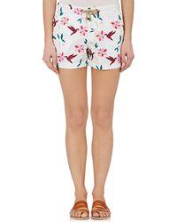 Thorsun - Cubist Tropical Athena Swim Shorts - Lyst
